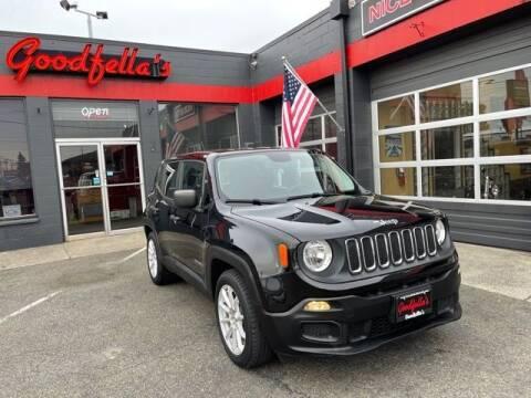 2016 Jeep Renegade for sale at Goodfella's  Motor Company in Tacoma WA