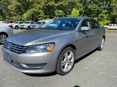 2014 Volkswagen Passat for sale at Worthington Air Automotive Inc in Williamsburg MA
