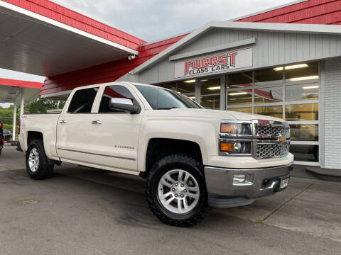 2015 Chevrolet Silverado 1500 for sale at Furrst Class Cars LLC  - Independence Blvd. in Charlotte NC