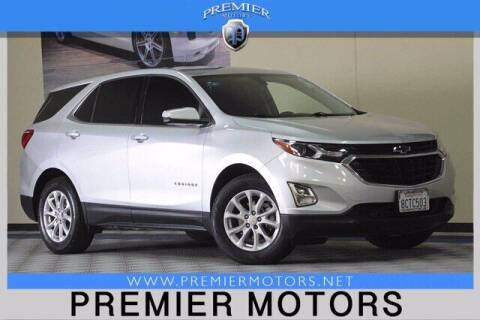 2019 Chevrolet Equinox for sale at Premier Motors in Hayward CA