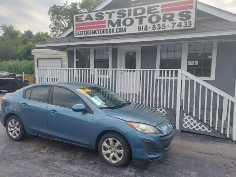 2011 Mazda MAZDA3 for sale at EASTSIDE MOTORS in Tulsa OK
