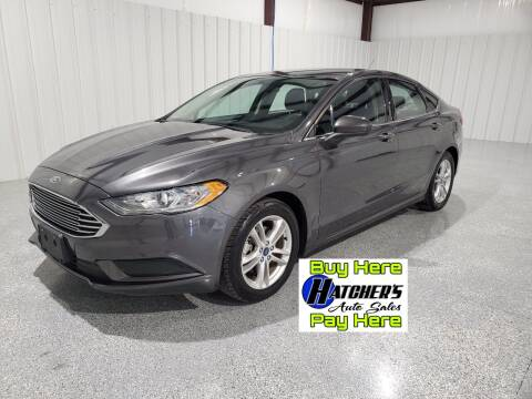 2018 Ford Fusion for sale at Hatcher's Auto Sales, LLC - Buy Here Pay Here in Campbellsville KY