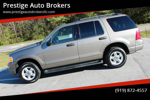 2004 Ford Explorer for sale at Prestige Auto Brokers in Raleigh NC