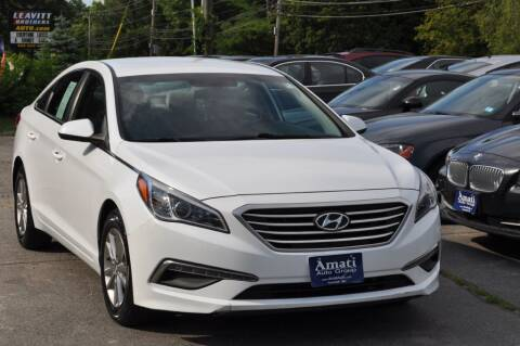 2015 Hyundai Sonata for sale at Amati Auto Group in Hooksett NH