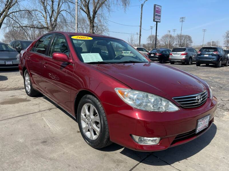 2005 Toyota Camry for sale at Direct Auto Sales in Milwaukee WI