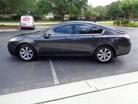 2012 Acura TL for sale at BALKCUM AUTO INC in Wilmington NC