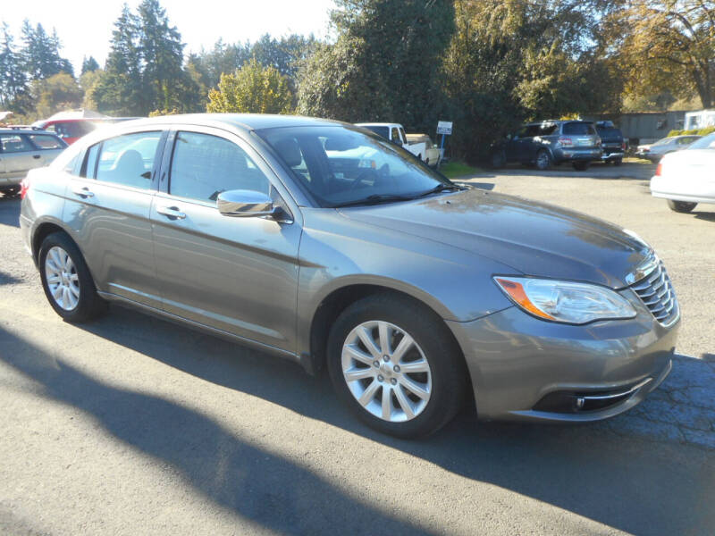 2013 Chrysler 200 for sale at Lino's Autos Inc in Vancouver WA