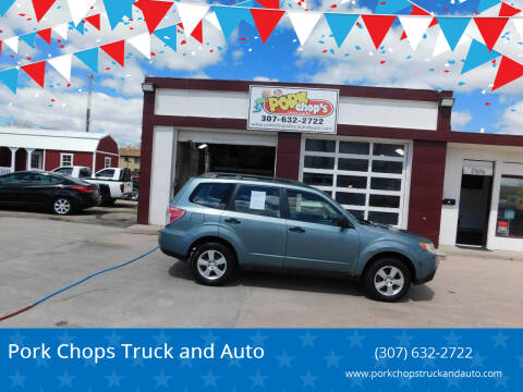 2012 Subaru Forester for sale at Pork Chops Truck and Auto in Cheyenne WY