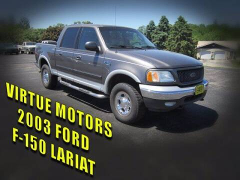 2003 Ford F-150 for sale at Virtue Motors Used in Darlington WI