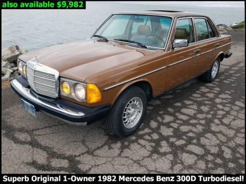 1982 Mercedes-Benz 300-Class for sale at Classic Car Deals in Cadillac MI