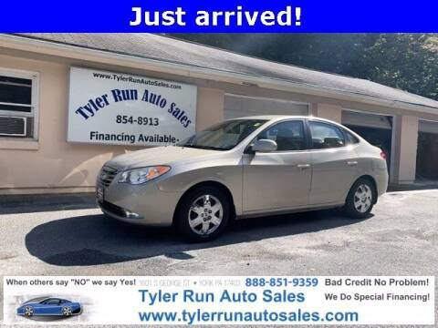 2010 Hyundai Elantra for sale at Tyler Run Auto Sales in York PA