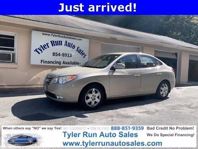2010 Hyundai Elantra for sale at Tyler Run Auto Sales in York PA