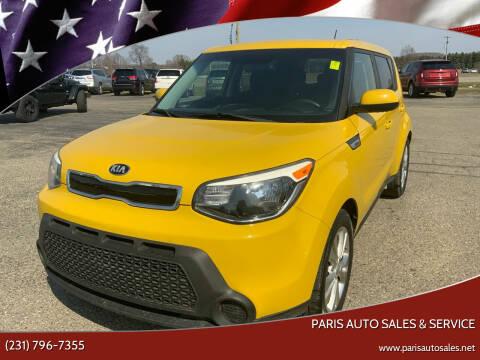 2015 Kia Soul for sale at Paris Auto Sales & Service in Big Rapids MI