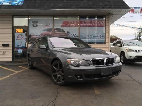 2006 BMW 7 Series for sale at EL SOL AUTO MART in Franklin Park IL
