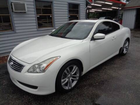2009 Infiniti G37 Coupe for sale at Z Motors in North Lauderdale FL