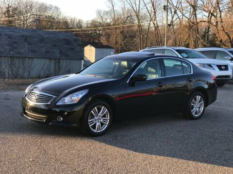 2013 Infiniti G37 Sedan for sale at First Ave Motors in Shakopee MN