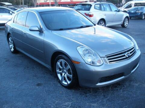 2005 Infiniti G35 for sale at Priceline Automotive in Tampa FL