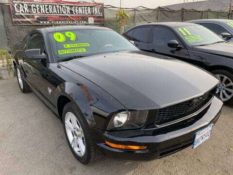 2009 Ford Mustang for sale at CAR GENERATION CENTER, INC. in Los Angeles CA