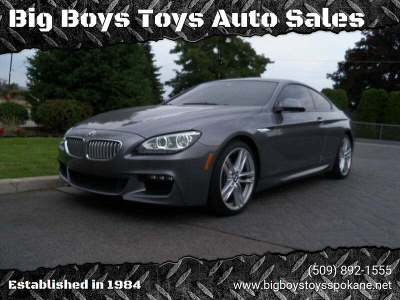 2014 BMW 6 Series for sale at Big Boys Toys Auto Sales in Spokane Valley WA