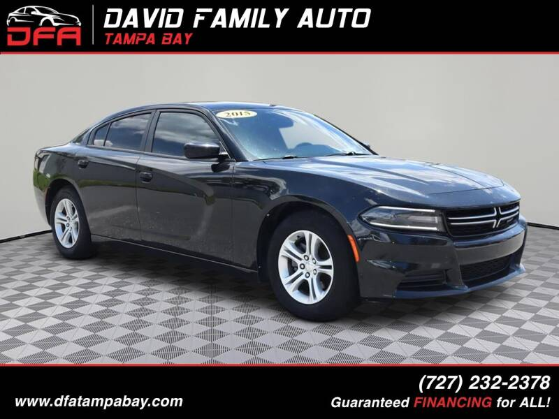 2015 Dodge Charger for sale at David Family Auto in New Port Richey FL