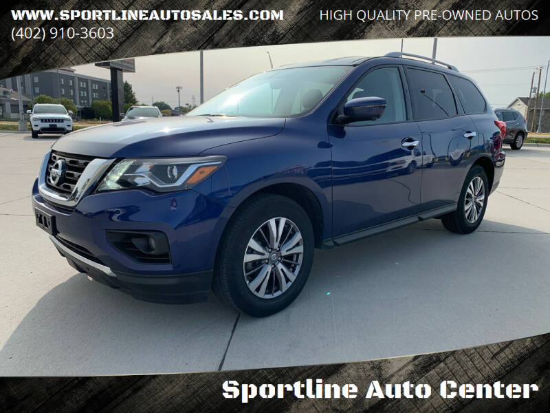 2020 Nissan Pathfinder for sale at Sportline Auto Center in Columbus NE