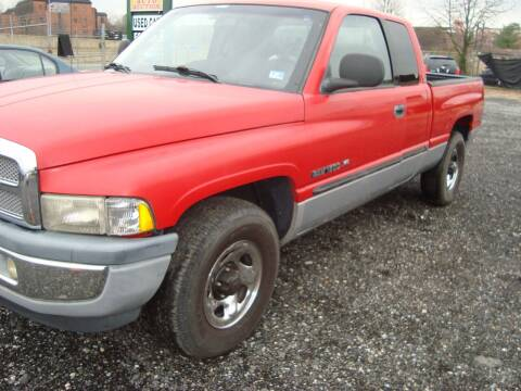 2000 Dodge Ram Pickup 1500 for sale at Branch Avenue Auto Auction in Clinton MD