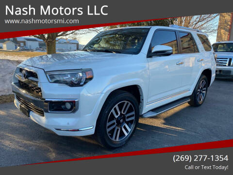 2014 Toyota 4Runner for sale at Nash Motors LLC in Hudsonville MI