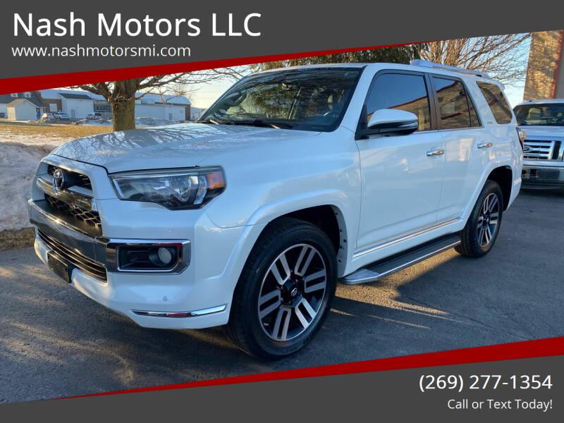 2014 Toyota 4Runner for sale at Nash Motors LLC in Hudsonville MI