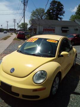 2008 Volkswagen New Beetle for sale at Locust Auto Imports in Locust NC