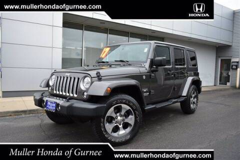 2017 Jeep Wrangler Unlimited for sale at RDM CAR BUYING EXPERIENCE in Gurnee IL