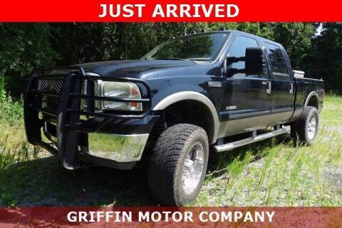 2007 Ford F-250 Super Duty for sale at Griffin Buick GMC in Monroe NC