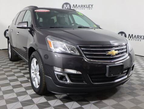 2017 Chevrolet Traverse for sale at Markley Motors in Fort Collins CO