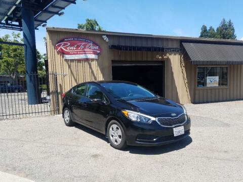 2016 Kia Forte for sale at Rent To Own Auto Showroom LLC - Finance Inventory in Modesto CA