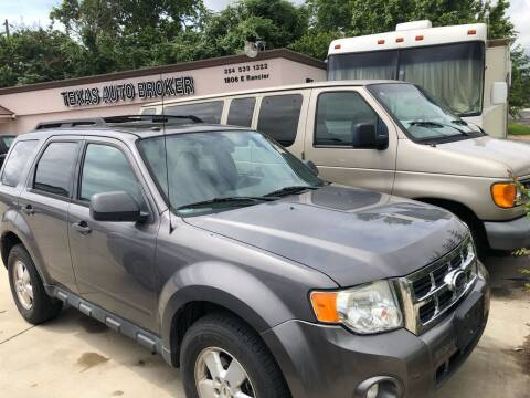 2011 Ford Escape for sale at Texas Auto Broker in Killeen TX
