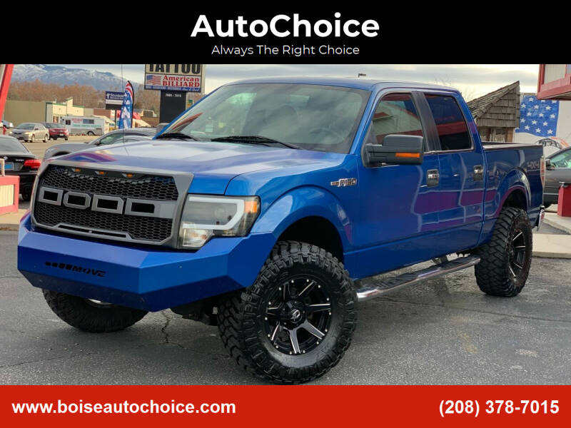 2009 Ford F-150 for sale at AutoChoice in Boise ID