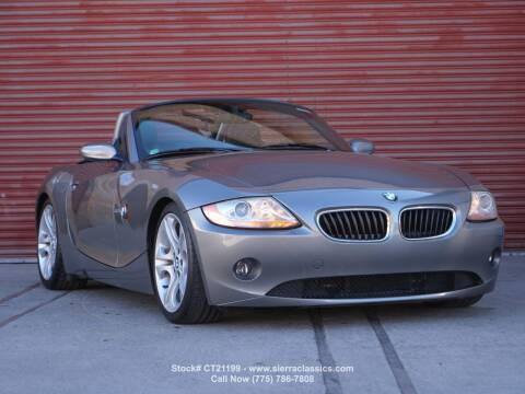 2003 BMW Z4 for sale at Sierra Classics & Imports in Reno NV