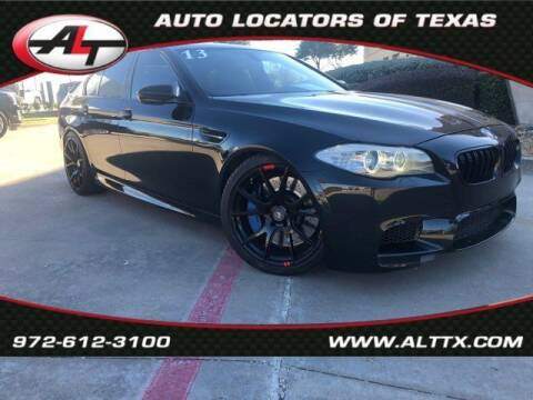 2013 BMW M5 for sale at AUTO LOCATORS OF TEXAS in Plano TX