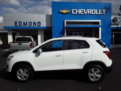 2016 Chevrolet Trax for sale at EDMOND CHEVROLET BUICK GMC in Bradford PA