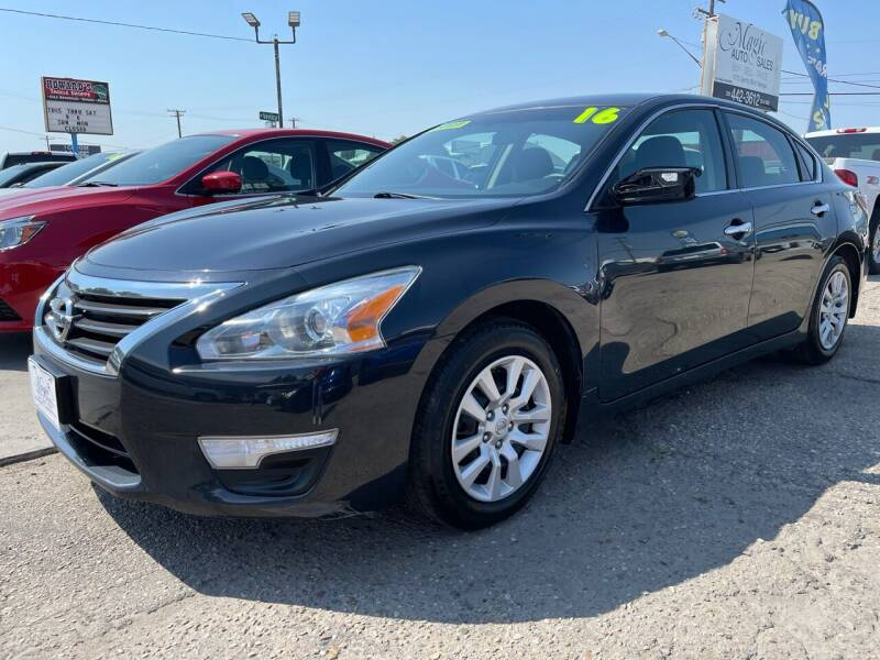 2015 Nissan Altima for sale at MAGIC AUTO SALES, LLC in Nampa ID