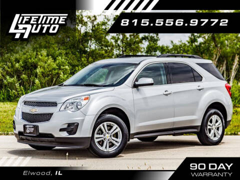 2015 Chevrolet Equinox for sale at Lifetime Auto in Elwood IL