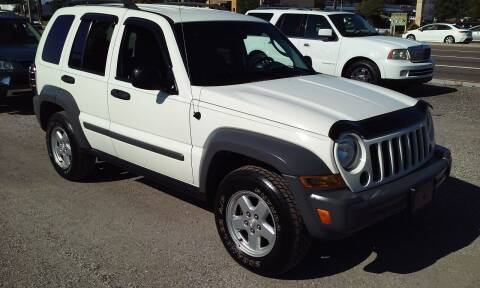 2005 Jeep Liberty for sale at Pinellas Auto Brokers in Saint Petersburg FL