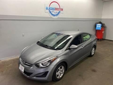 2014 Hyundai Elantra for sale at WCG Enterprises in Holliston MA