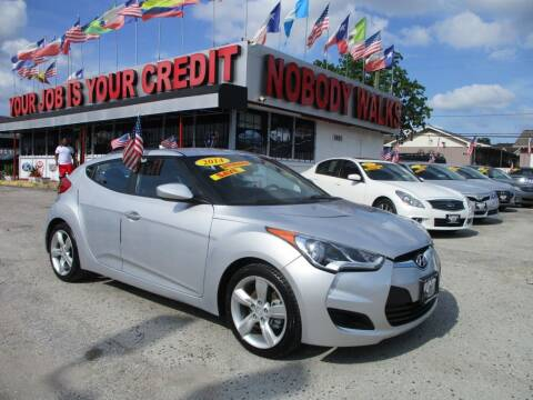 2014 Hyundai Veloster for sale at Giant Auto Mart 2 in Houston TX