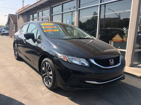 2014 Honda Civic for sale at Devine Auto Sales in Modesto CA