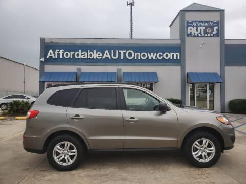 2011 Hyundai Santa Fe for sale at Affordable Autos in Houma LA