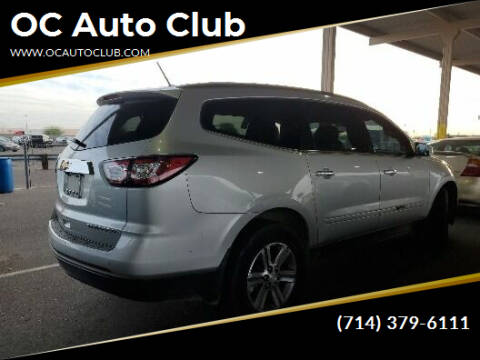 2015 Chevrolet Traverse for sale at OC Auto Club in Midway City CA