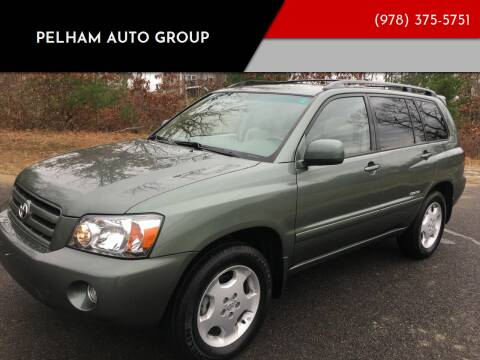 2006 Toyota Highlander for sale at Pelham Auto Group in Pelham NH