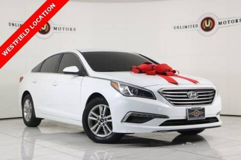 2015 Hyundai Sonata for sale at INDY'S UNLIMITED MOTORS - UNLIMITED MOTORS in Westfield IN