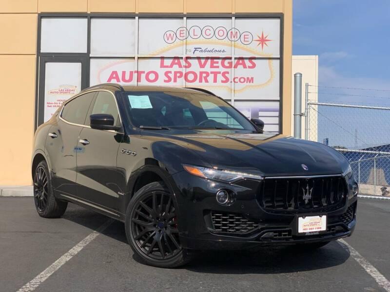 2018 Maserati Levante for sale at Las Vegas Auto Sports in Las Vegas NV