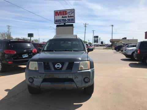 2006 Nissan Xterra for sale at MB Auto Sales in Oklahoma City OK